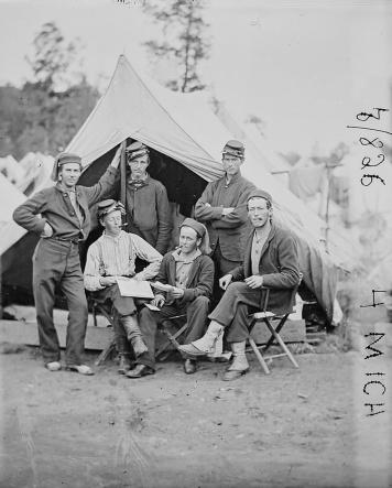 Taken at Ft. Woodbury, Arlington Heights, VA on 27 Sept. 1861