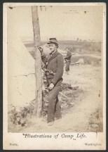 Unidentified members of 4th Michigan Infantry; Brady Image