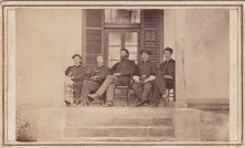 Brev. Brig. Gen. Houghton & his staff of 4th Mich. Regt. in Texas; Courtesy of Dave Broene