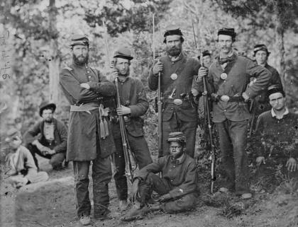 Members of 4th Michigan