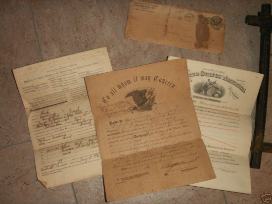 Private William Newell papers