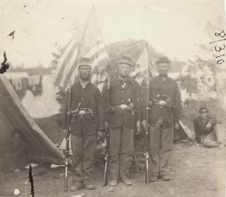 Believed to be members of 4th Michigan; David Finney Collection