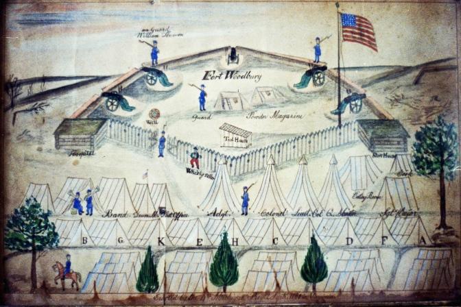 Fort Woodbury drawing #2
