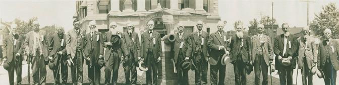 1915 4th Michigan veterans at Hillsdale; Will Carleton Poor Housejpg