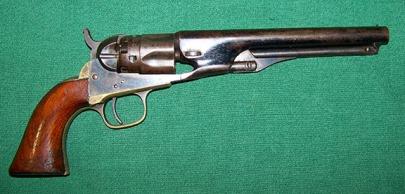 Edward Sumner's Colt Army Model 1860 pistol; Bill Clark collection