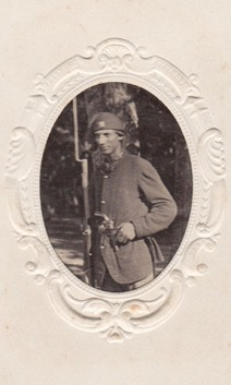 Unidentified soldier in the 4th Mich. Inf.