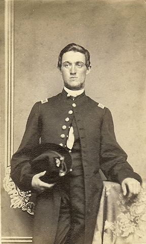 An unidentified Lt. in the Fourth Mich. Inf.