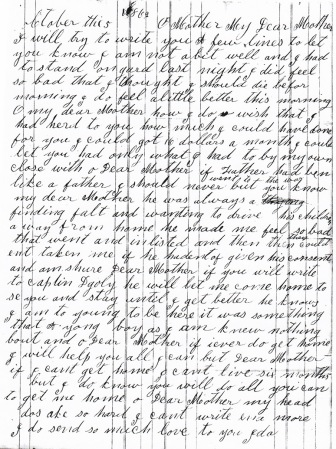 Osborn letter dated 10-5-1862 (a)