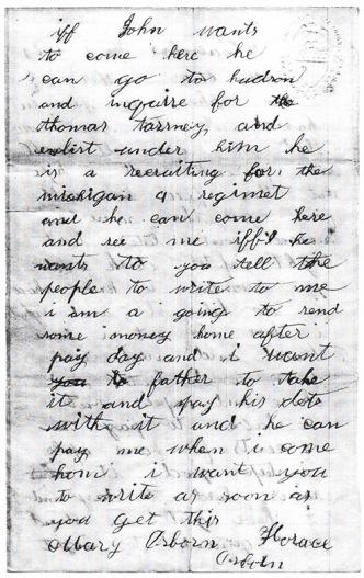 Osborn letter dated 11-2-1861 (b)