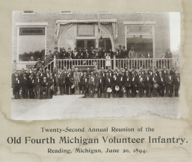 1894 Reunion of the 4th Michigan Inf