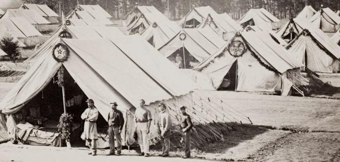Camp Letterman General Hospital at Gettysburg
