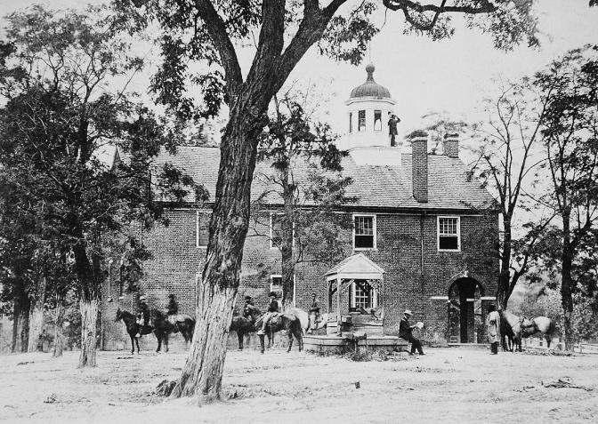 Fairfax Court House,Virginia (Courtesy of the National Records and Archives Administration)