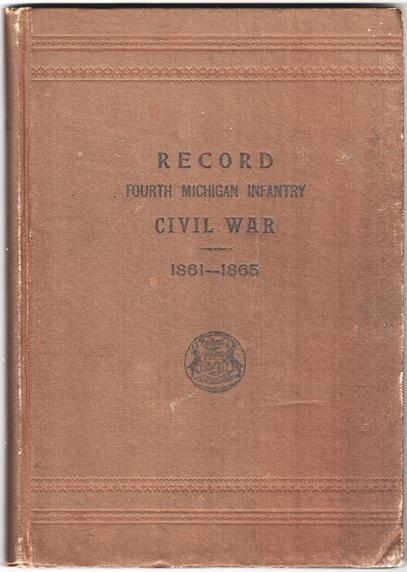 "Cover of Albert Boies' copy of Vol. 4 of the ""Michigan Brown Books"""