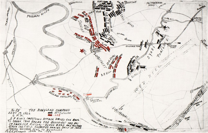 6 pm September 17, 1862 Maryland Campaign