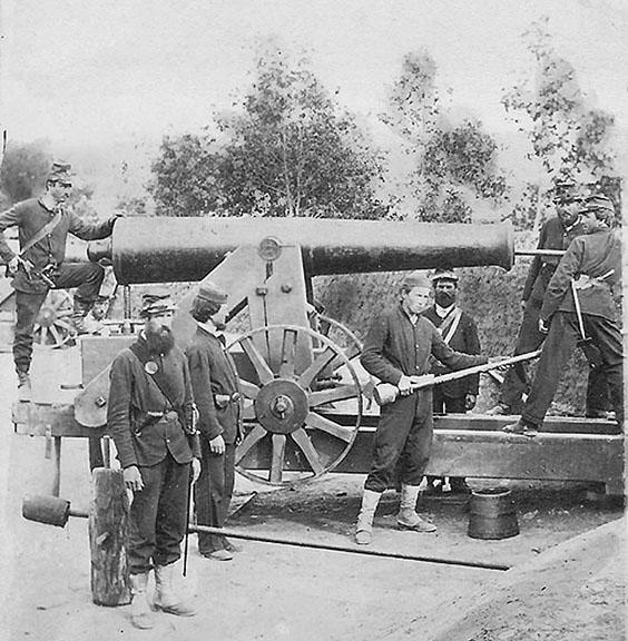Company K at Fort Woodbury Image~