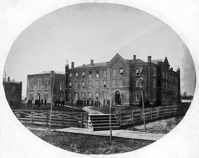 Adrian College 1860s ~