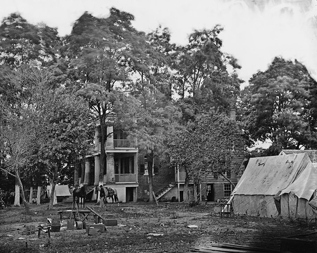Fairfax Courthouse in 1863 ~