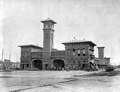 Harrisburg RR depot ~