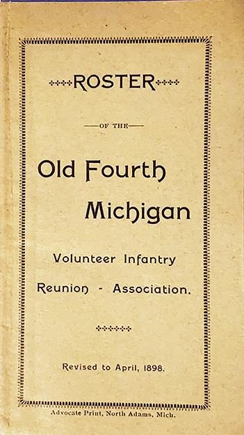 April 1898 Reunion Roster