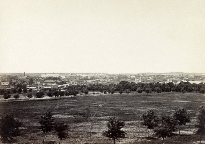 Washington D. C. during the war